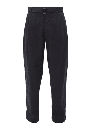 Raey - Wide-leg Cotton Chino Trousers - Mens - Navy