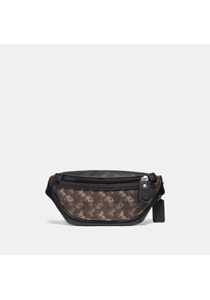 Coach Rivington Belt Bag 7 With Horse And Carriage Print