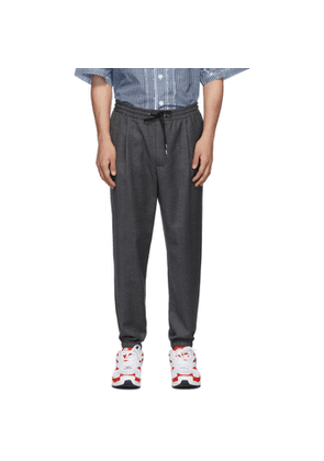 McQ Alexander McQueen Grey Tailored Track Trousers