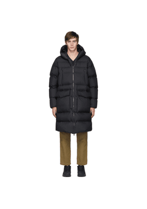 Woolrich Black Down Packable Sealed Parka