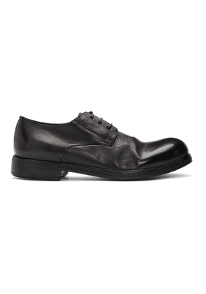 Marsell Black Zucca Media Derbys