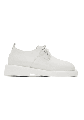 Marsell White Gomme Gommello Derbys