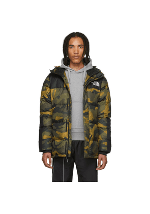The North Face Green Down Camo Deptford Jacket