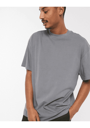 Weekday Great t-shirt in grey