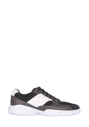 boss leather sneakers