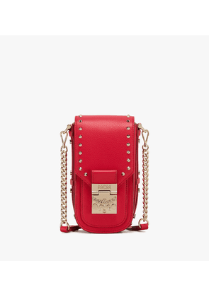 Patricia Mini Crossbody In Studded Park Ave Leather