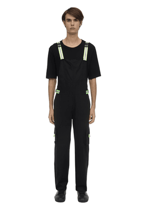 Cotton Overalls W/ Reflective Buckles