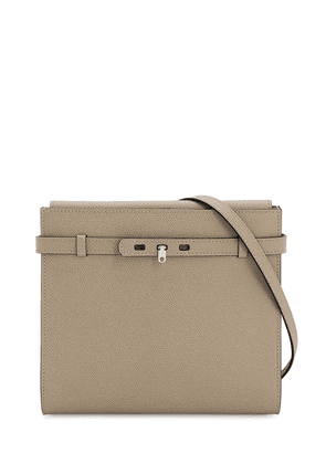 B-tracollina Grained Leather Bag