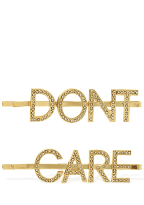 Don't Care Double Hair Clips