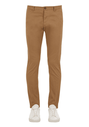 Tidy Fit Stretch Cotton Twill Pants