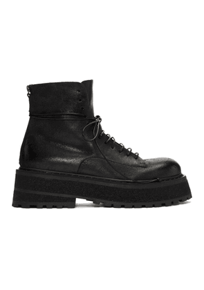 Marsell Black Carretta Boots