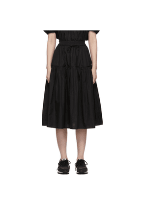 Cecilie Bahnsen Black Voluminous Adea Skirt