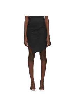 Coperni Black Motion Skirt