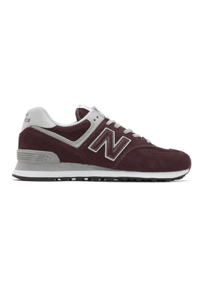 New Balance Burgundy 574 Core Sneakers