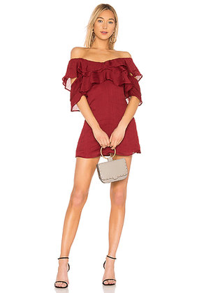 House of Harlow 1960 X REVOLVE Ramon Dress in Red. Size XXS.