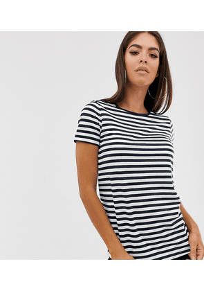 ASOS DESIGN Tall ultimate t-shirt with crew neck in stripe-Multi