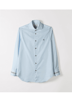 Two Button Cutaway Ice Blue