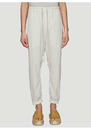 Rick Owens The Babel Track Pants in White size IT - 52