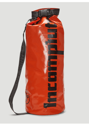 Off-White Incompiuto Print Backpack in Orange size One Size