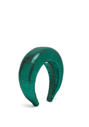 Flapper - Edvige Lamé Headband - Womens - Green