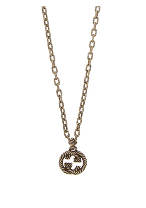 Gucci - GG Rope-engraved Sterling-silver Necklace - Mens - Silver