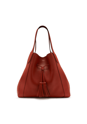 Mulberry Millie Tote in Rust Heavy Grain