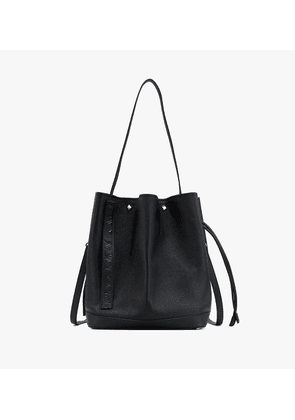 Milano Drawstring Bag In Goatskin Leather
