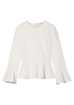Elizabeth And James Cady Peplum Top Woman Off-white Size 4