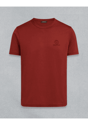 Belstaff BELSTAFF Short Sleeved T-SHIRT Red