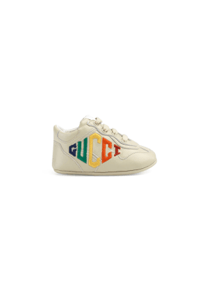 Baby Gucci embroidered Rhyton sneaker