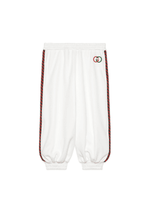 Children's technical jersey trousers