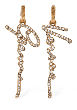 Gianni Versace Mismatched Earrings