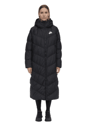 Nsw Nylon Hooded Puffer Parka
