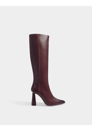 Les Bottes Leon Boots in Burgundy Leather