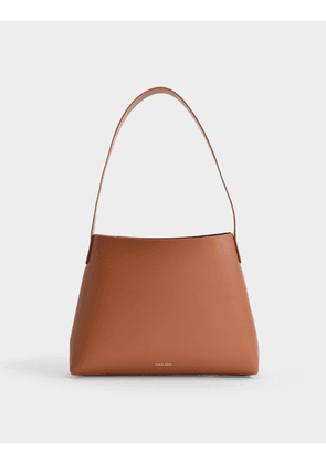 Hobo Small Bag in Ginger Calfskin