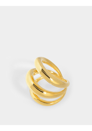 Echo Ring in Yellow Vermeil