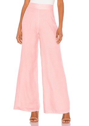 Tularosa Marley Pant in Pink. Size XS,S.