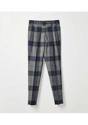 George Trousers Blue Prince of Wale Check