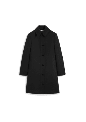 Mulberry Faith Jacket in Black Crepe