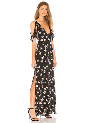 About Us Mary Maxi Dress in Black. Size XXS,XS.