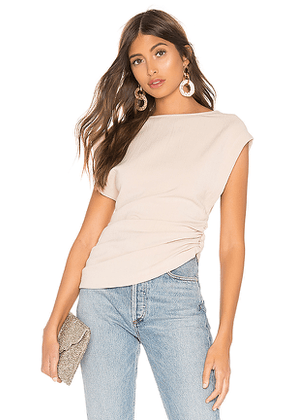 L'Academie The Anya Top in Cream. Size S,M.