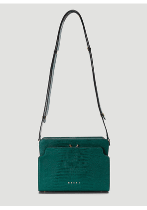 Marni Embossed Trunk Bag in Green size One Size
