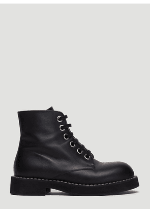 Marni Lace-Up Boots in Black size EU - 36