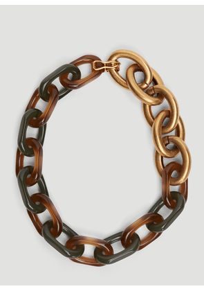 Marni Chain Necklace in Gold size One Size