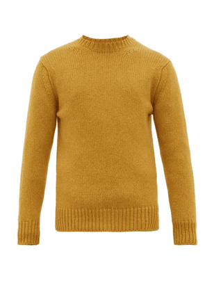 Connolly - Knitted Cashmere Sweater - Mens - Gold