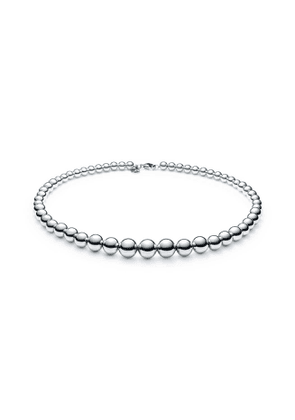 Tiffany City HardWear graduated ball necklace in sterling silver