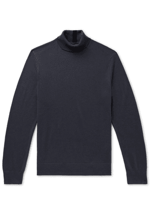 Club Monaco - Merino Wool Rollneck Sweater - Charcoal
