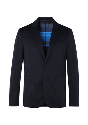 PS Paul Smith - Navy Slim-fit Cotton-blend Suit Jacket - Navy