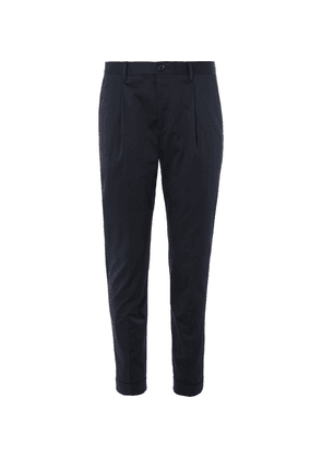 PS Paul Smith - Navy Slim-fit Cotton-blend Suit Trousers - Navy