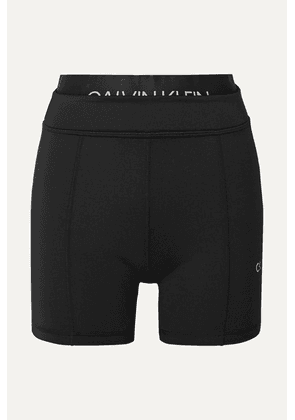 Calvin Klein - Printed Stretch Shorts - Black